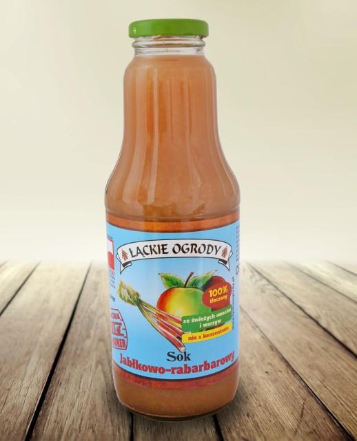 Sok Łąckie Ogrody jabłkowo-rabarbarbarowy 700 ml