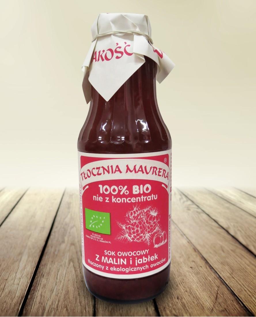Sok bio malinowy z jabłkiem 700 ml
