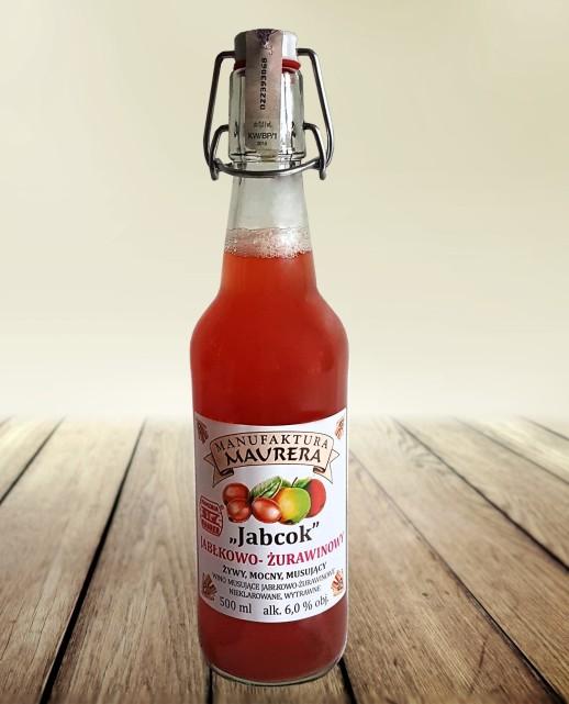 Jabcok Jabłkowo - Żurawinowy 500 ml
