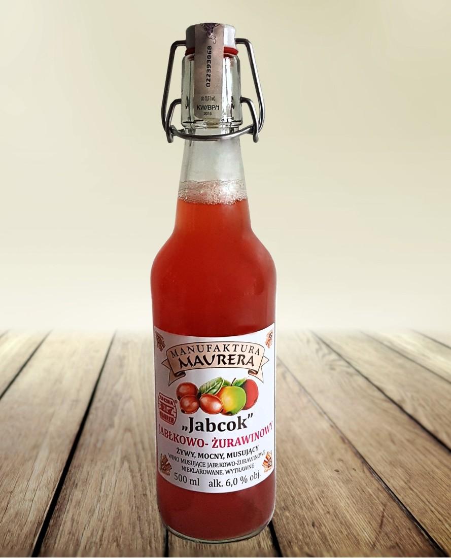 Jabcok jabłkowo - żurawinowy 500ml