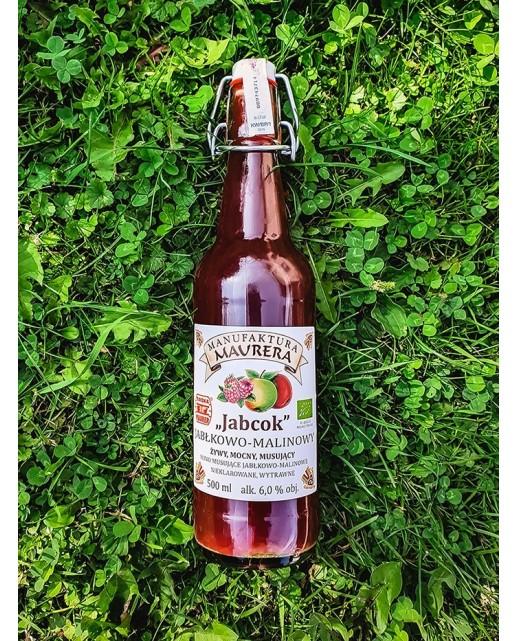NOWOŚĆ Jabcok Jabłkowo - malinowy 500 ml