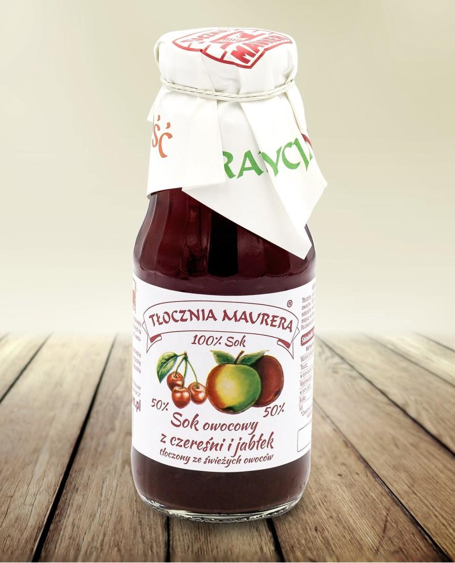Sok czereśniowy z jabłkiem 300 ml