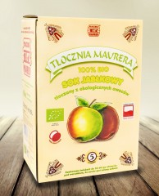 Sok Bio jabłkowy karton 5L