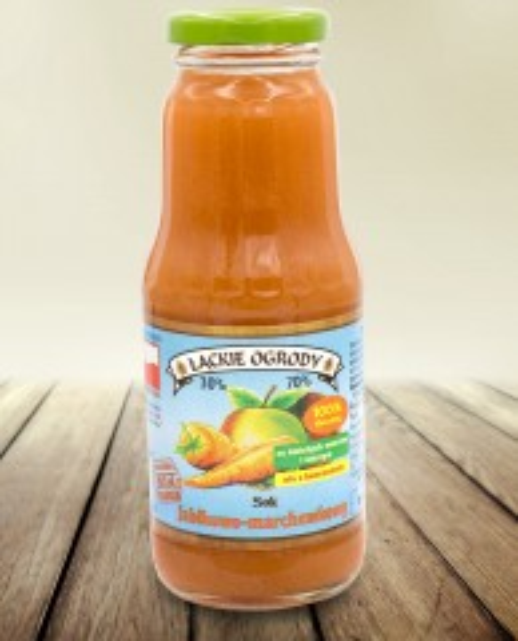Sok Łąckie Ogrody jabłkowo-marchewkowy 300 ml