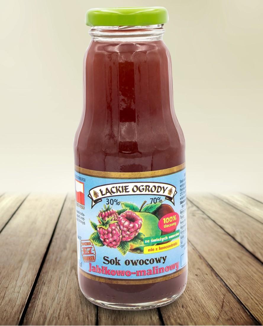 Sok Łąckie Ogrody jabłkowo-malinowy 300 ml
