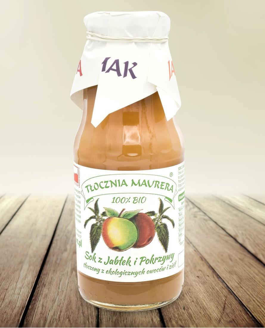 Sok bio jabłkowy z melisą 300 ml