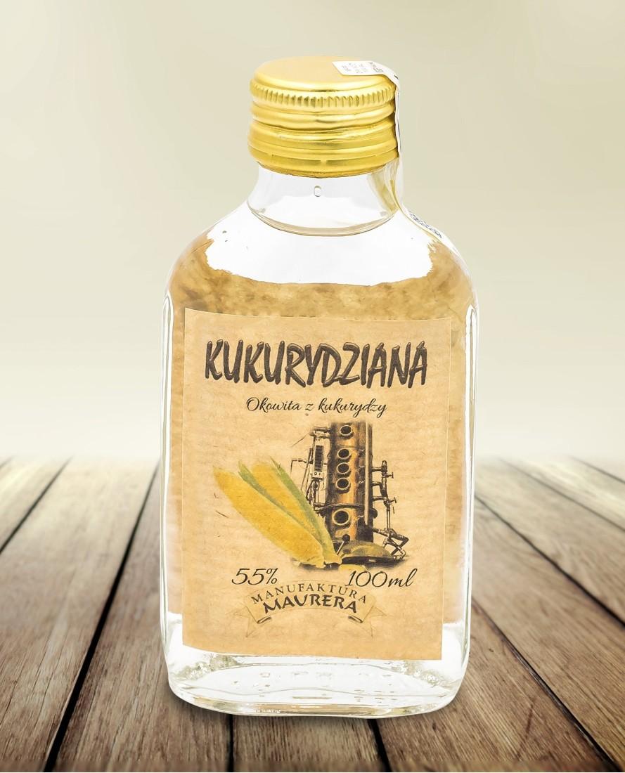 Okowita Kukurydziana 55% 100ml