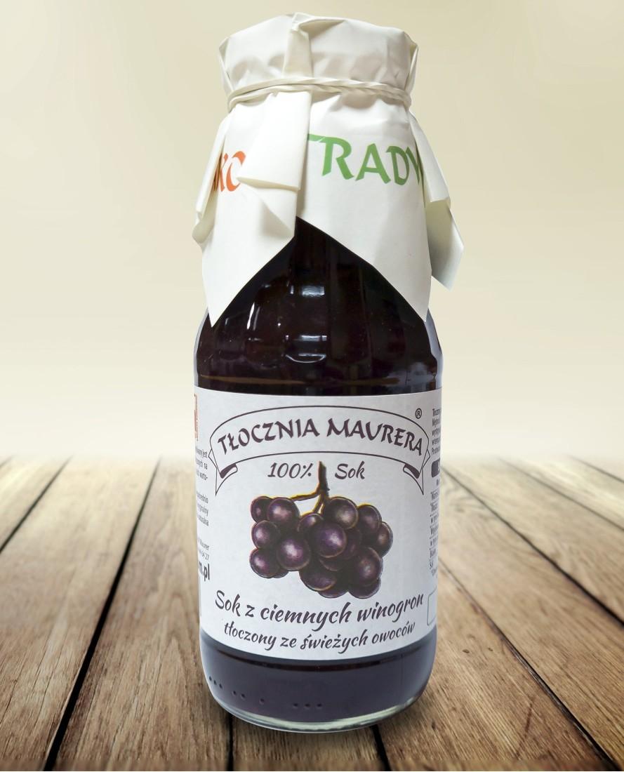 Sok z ciemnych winogron 300 ml