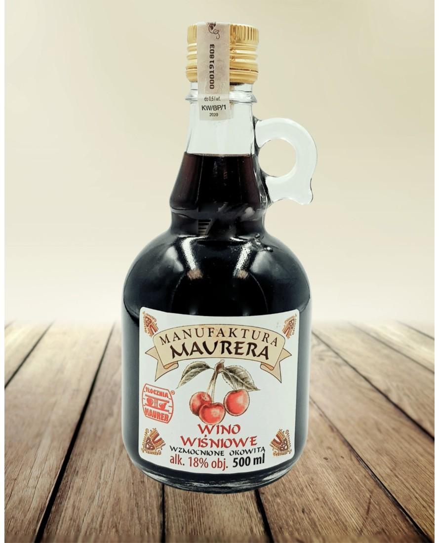 Wino wiśniowe BIO 500 ml